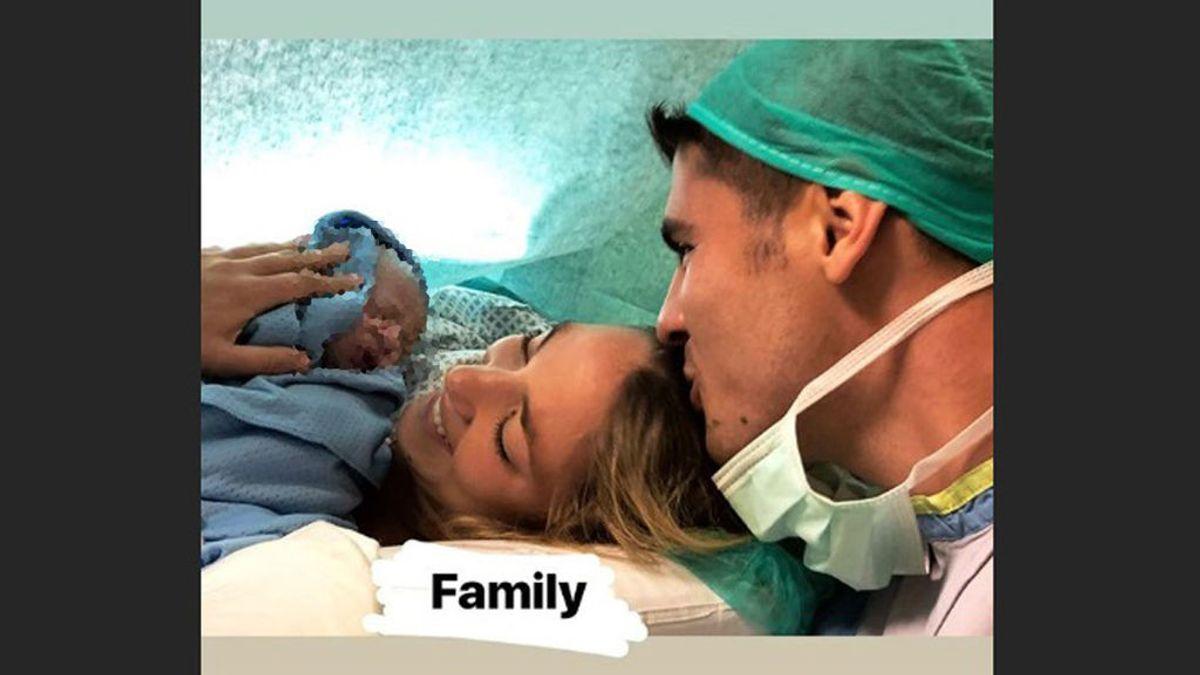 Morata comparte la imagen más tierna de sus pequeños recién nacidos