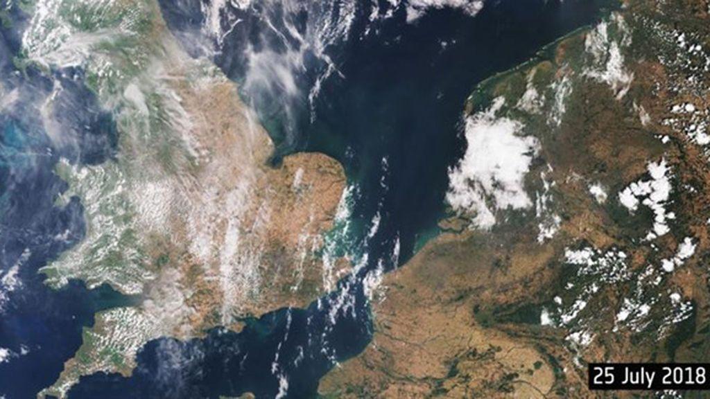 Confirmado: el cambio climático, el responsable del calor en Europa este verano
