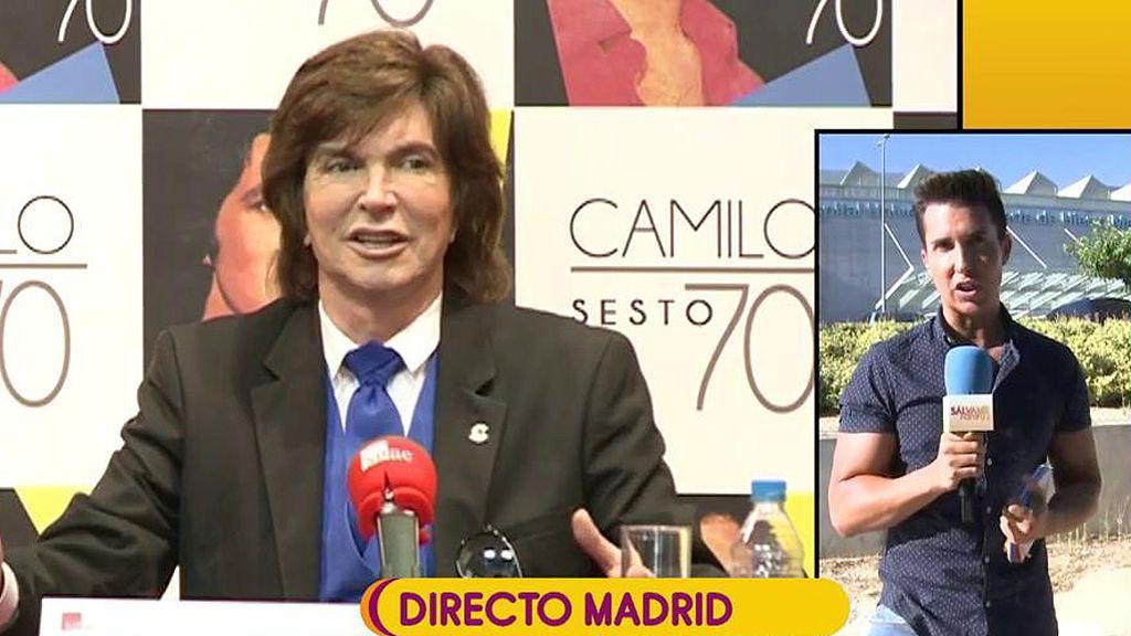 El ingreso de Camilo Sesto se debe a problemas de riñón, según Omar Suárez