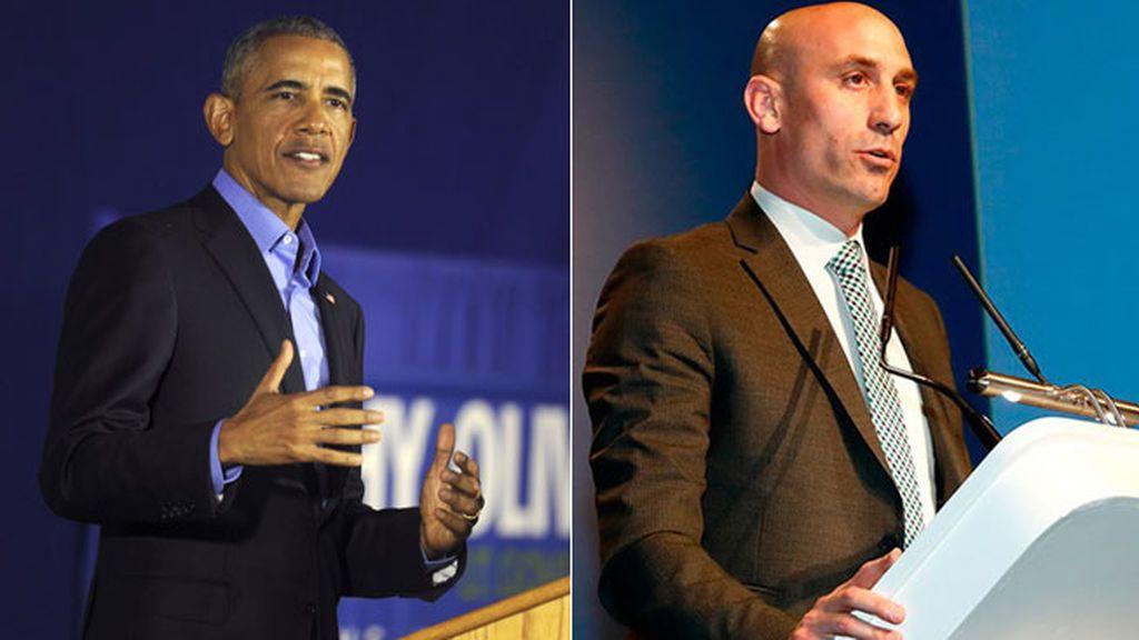 ¿Rubiales y Obama? La conversación que las redes sociales no se creen