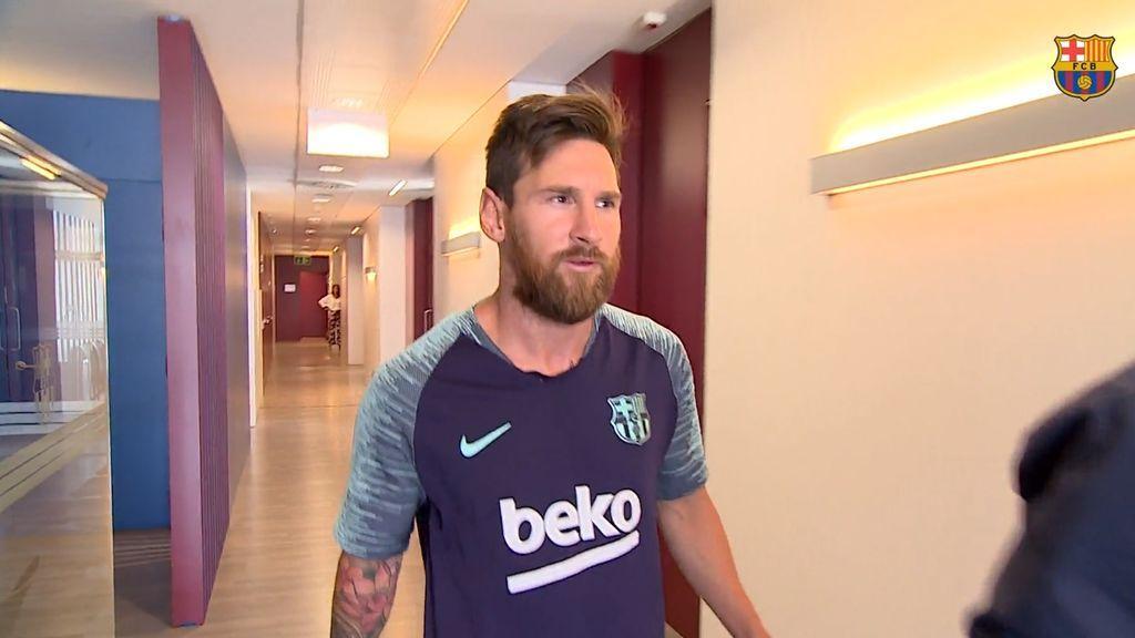 Se acabó lo bueno: Leo Messi y los internacionales españoles se incorpor