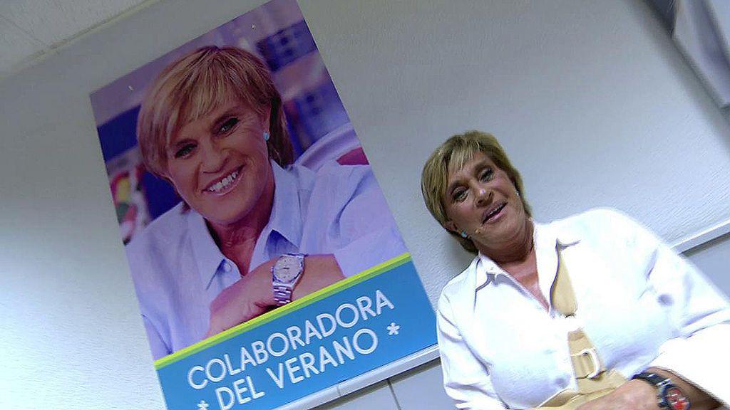 ¡Chelo García Cortés es nombrada colaboradora del verano y pasa a formar parte del pasillo de las estrellas de Mediaset!