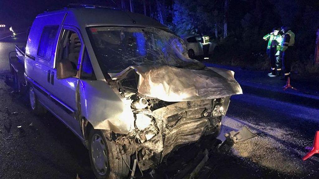 Muere una chica en un accidente de tráfico en Pontevedra