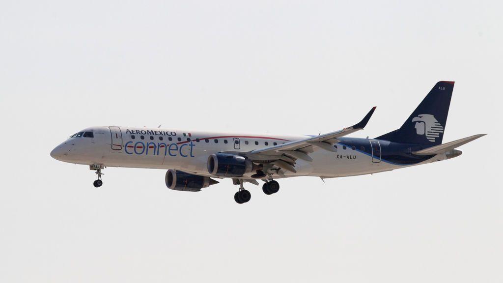 Se estrella un avión de Aeroméxico poco después de despegar desde el aeropuerto de Durango