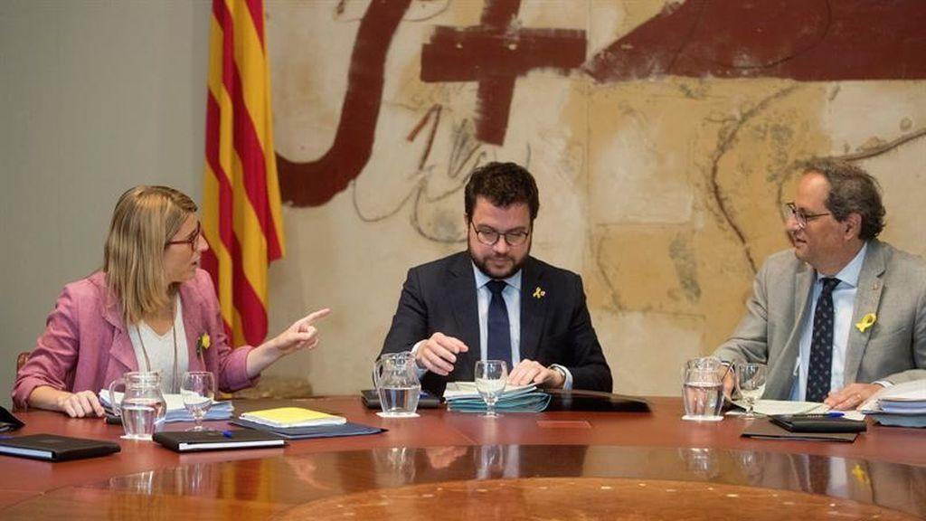 Última reunión del Govern en verano