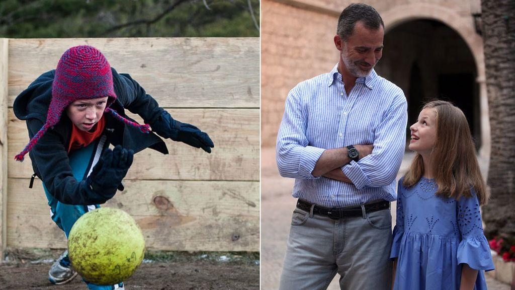 Todo sobre el 'ga ga', el juego de pelota que le encanta a la princesa Sofía pero que el rey no conoce