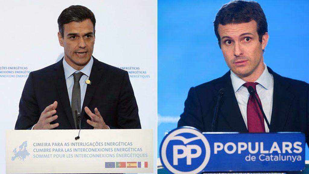 Sánchez y Casado se verán este jueves en Moncloa, su primer contacto tras la elección del nuevo líder del PP