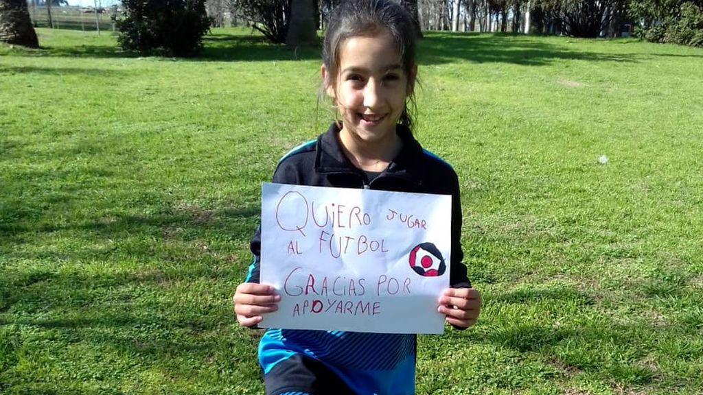Tiene Siete Anos Y No La Dejan Jugar Al Futbol En La Liga De Su