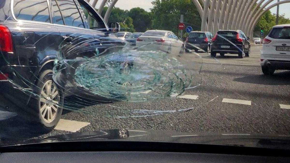 Detenidos tres taxistas en Madrid por delitos contra la seguridad vial y daños a VTCs