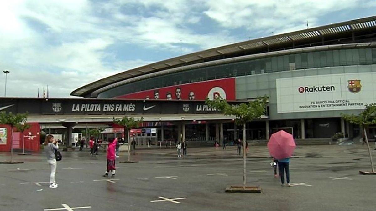 El Camp Nou, el objetivo de los terroristas de Barcelona