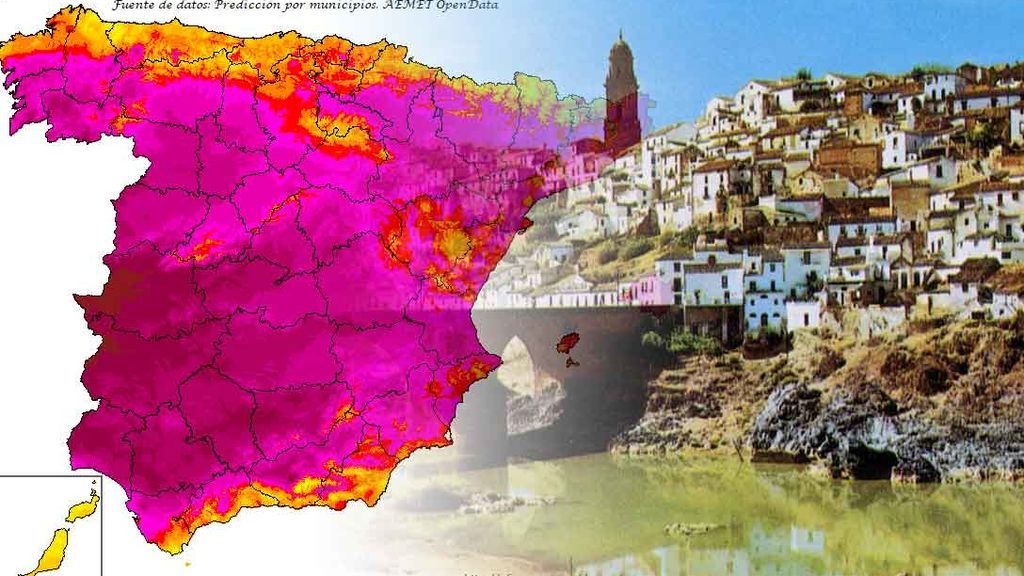 El ránking de las altas temperaturas : las localidades donde más te vas a asar por la ola de calor