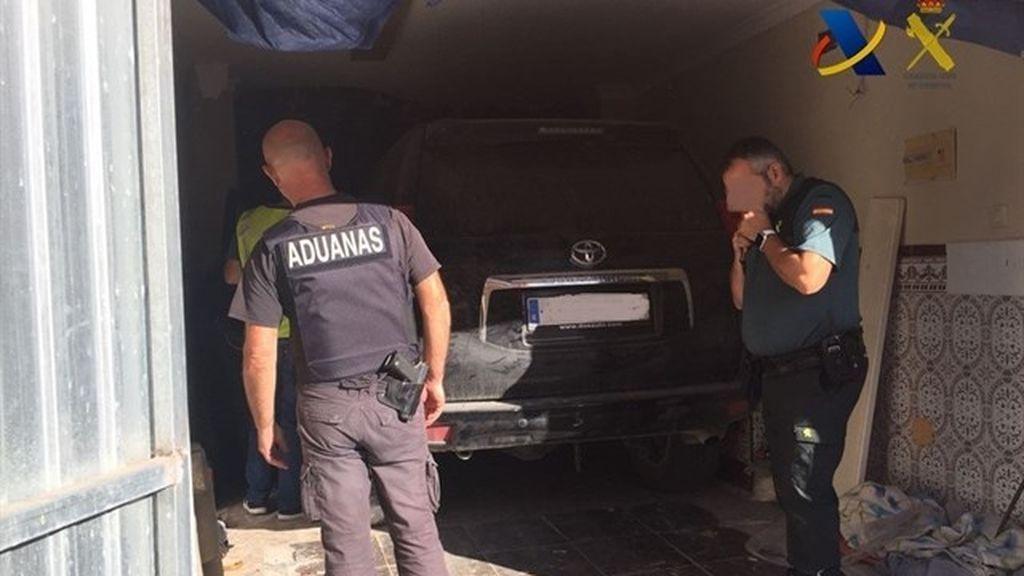 Incautadas tres toneladas de hachís ocultas en una 'guardería' en La Línea (Cádiz)