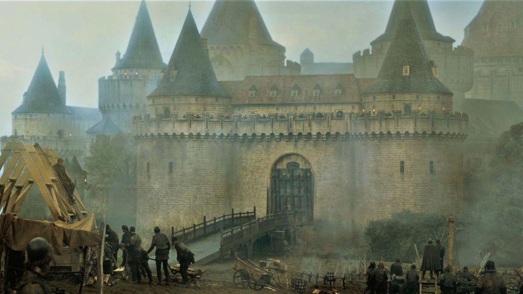 El castillo de Aguasdulces, en la sexta temporada de 'Juego de tronos'.