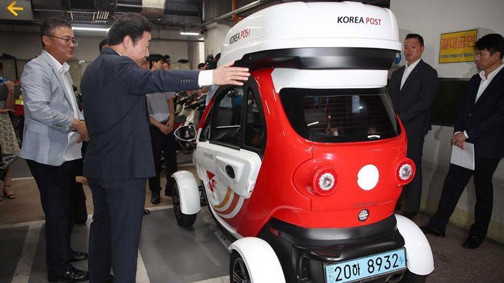 Los carteros surcoreanos tendrán un vehículo 'eco'