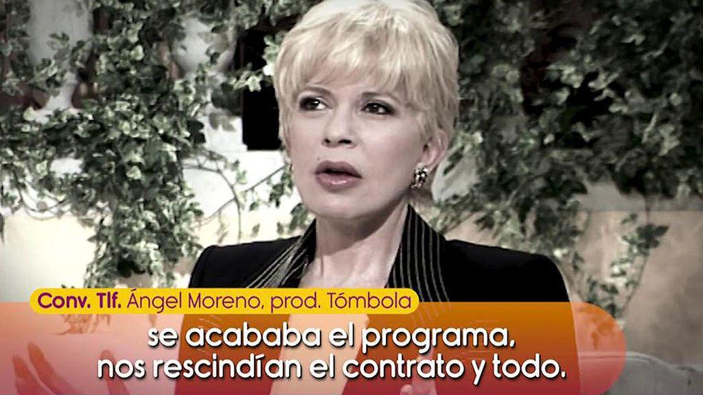 """El productor de 'Tómbola' explica por qué se vetó la entrevista de Barbara Rey: """"Nos dijeron que si salía un solo segundo se acababa el programa"""""""