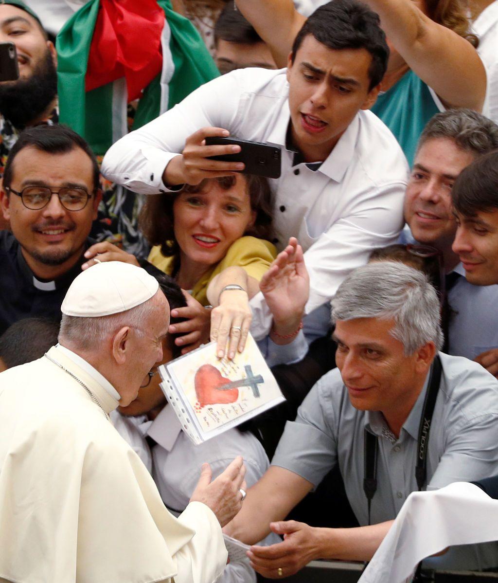 Audiencia en el Vaticano