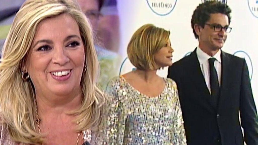 """Carmen Borrego no desmiente la relación de Terelu con su ex, Salva: """"Se está portando maravillosamente con ella"""""""