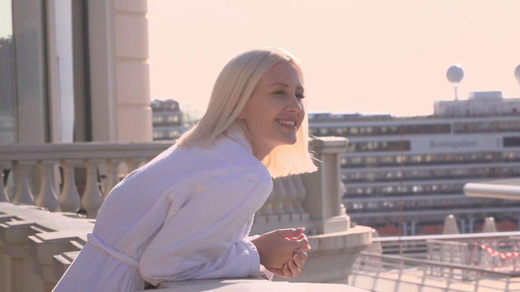 Un día con la mujer de Falcao en Mónaco: termas, jacuzzis y ensaladas de 32 euros