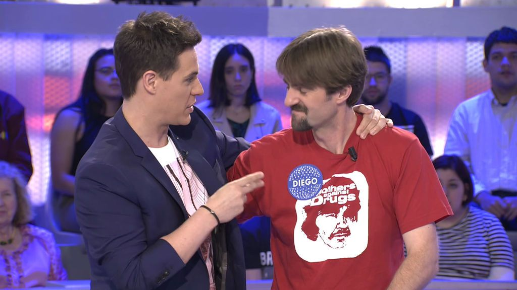 """La emotiva despedida de Christian a Diego: """"Me encantaría tener un profesor como este señor"""""""
