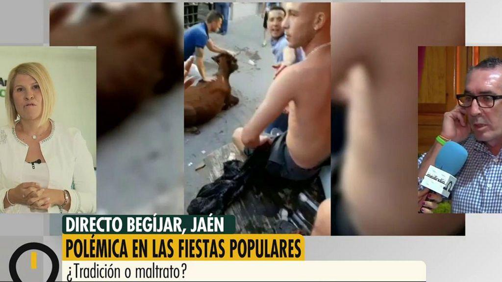 ¿Maltrato o tradición? Opina sobre la polémica del becerro herido en Begíjar