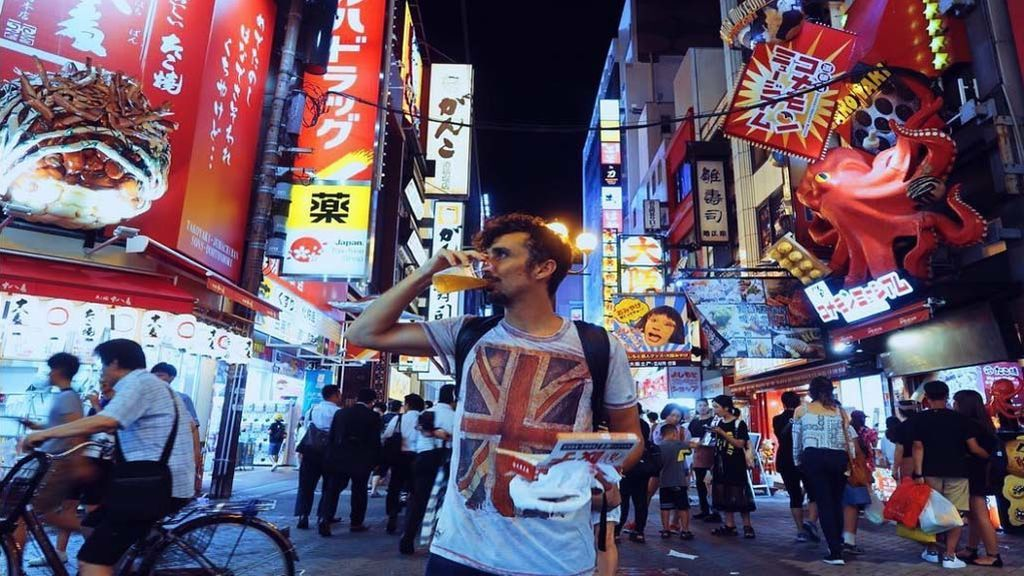 La loca aventura de Canco Rodriguez 'El Baraja' en Japón
