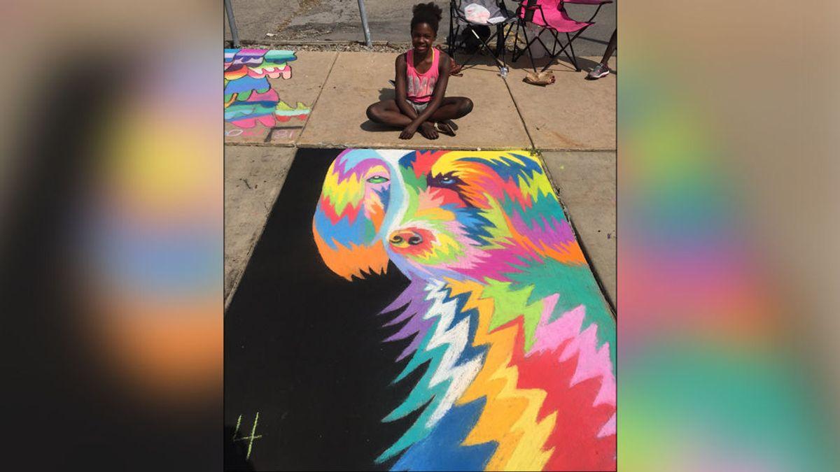 La preciosa obra de arte con la que una niña de 11 años ha sorprendido a la Red