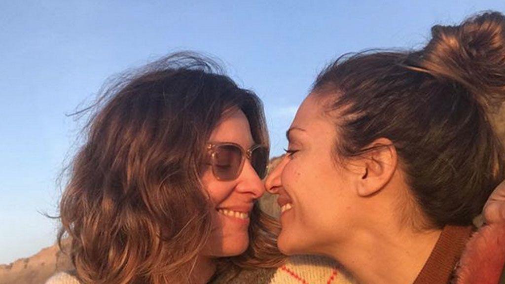 """Nagore Robles aclara los rumores de boda con Sandra Barneda: """"Yo pocas promesas"""""""