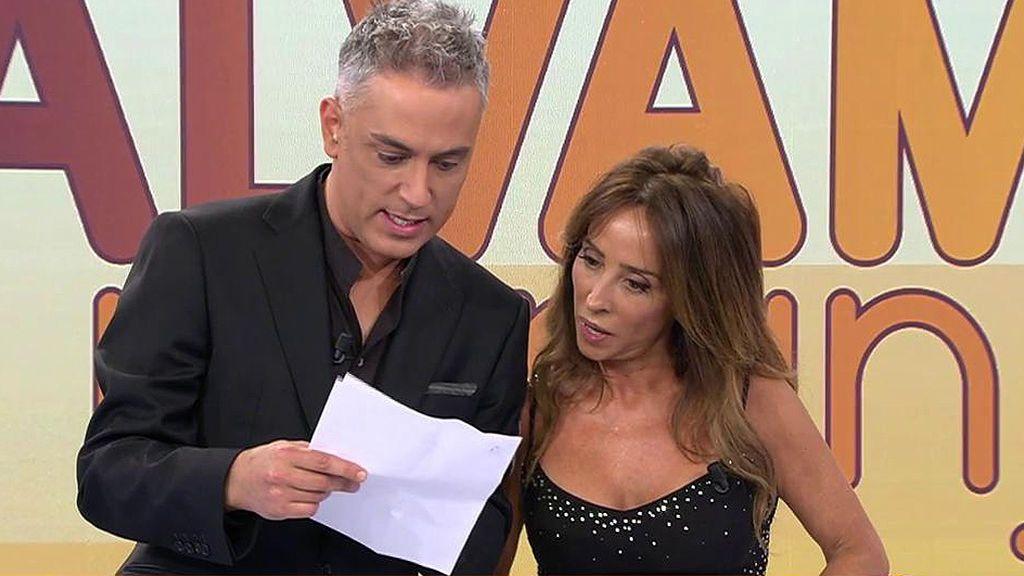 María Patiño se entera en directo de que tendrá que acudir como testigo a un juicio