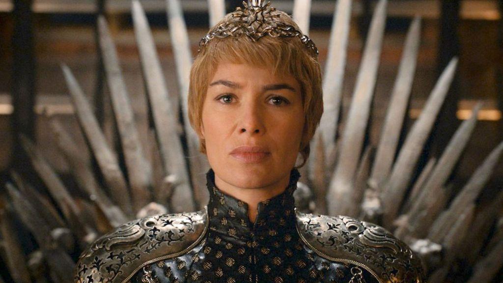 Lena Headey es Cersei Lannister en la serie 'Juego de tronos'.
