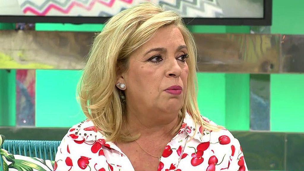 """Carmen Borrego: """"Para Terelu es muy duro saber que a pesar de la mastectomía tendrá que tomarse la pastilla 5 años"""""""
