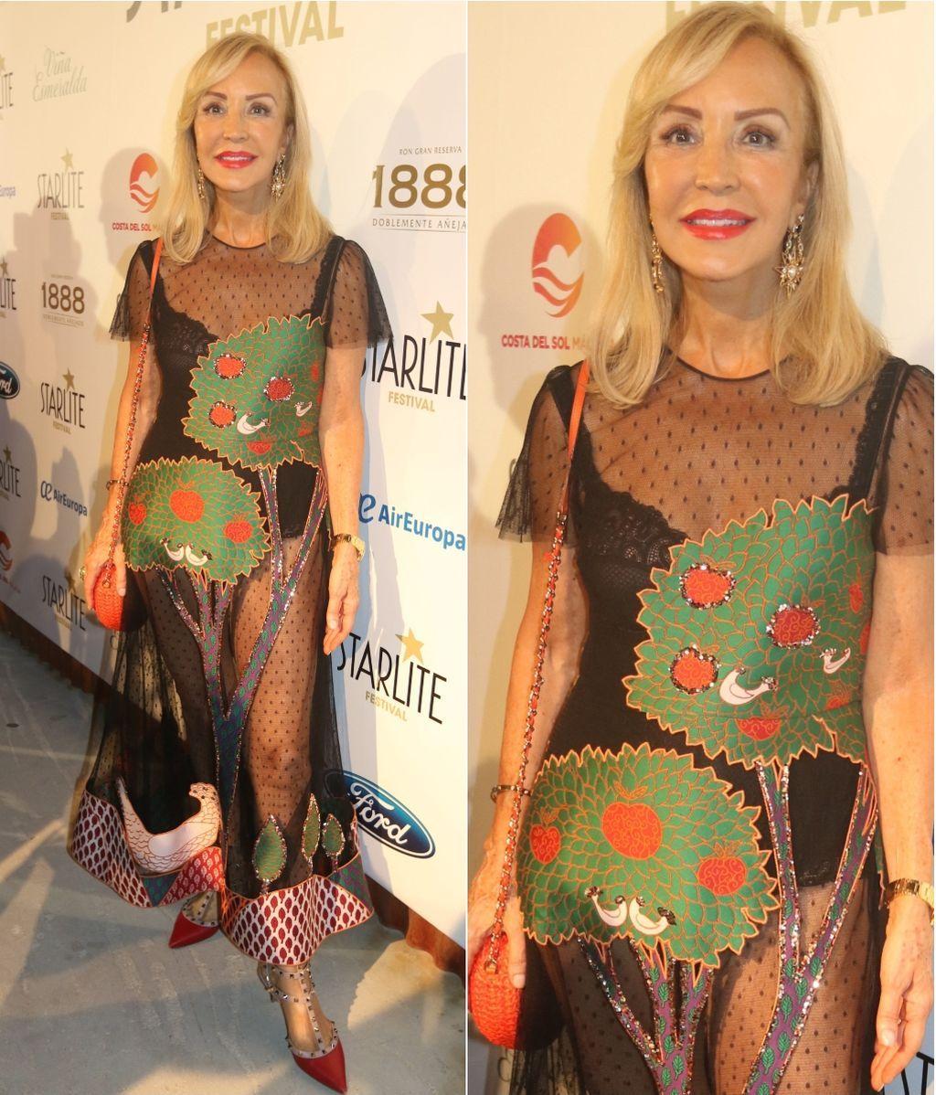 vestido Carmen Lomana