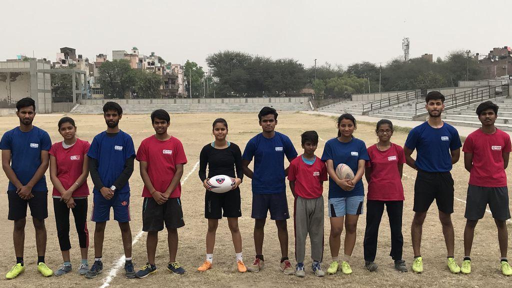 Touch rugby, el deporte con el que las adolescentes indias plantan cara a la discriminación de género