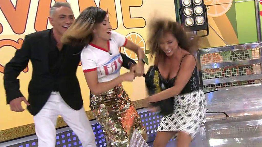 ¡Nuria Marín es la nueva presentadora de 'Sálvame' y María Patiño enloquece!