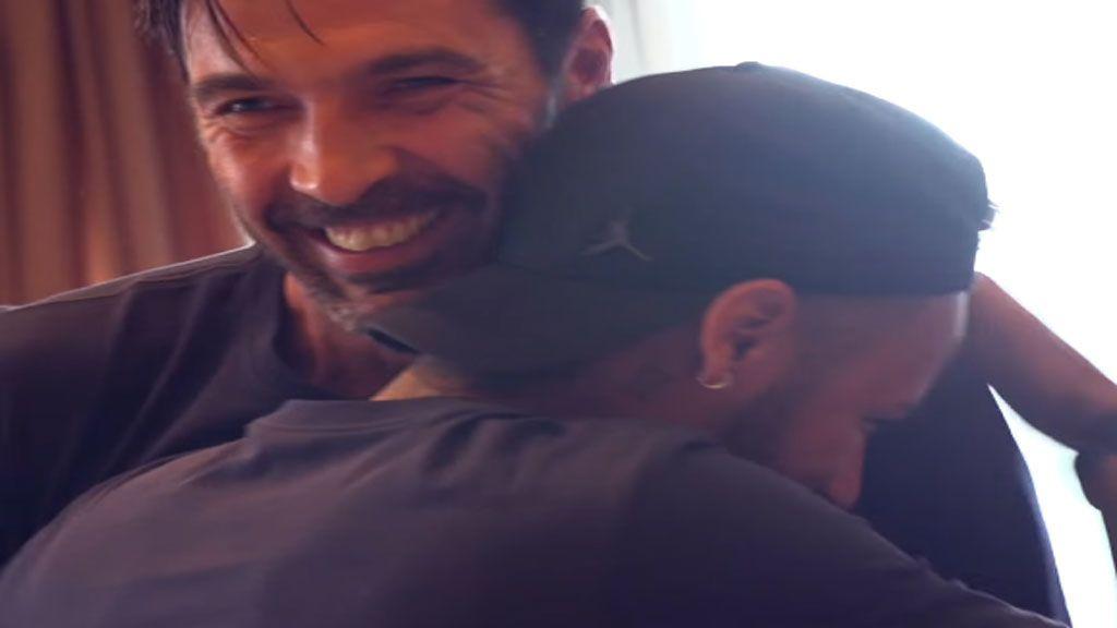 La novatada de Buffon en el París Saint Germain con la que Neymar no ha parado de reírse