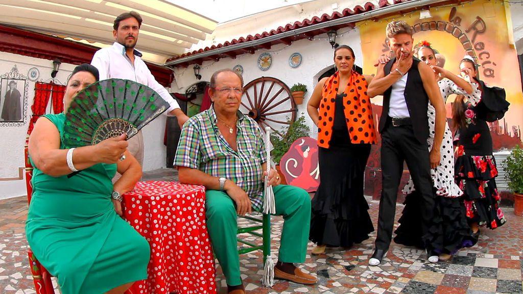 Los Maya, en la primera temporada de 'Los gipsy kings'.
