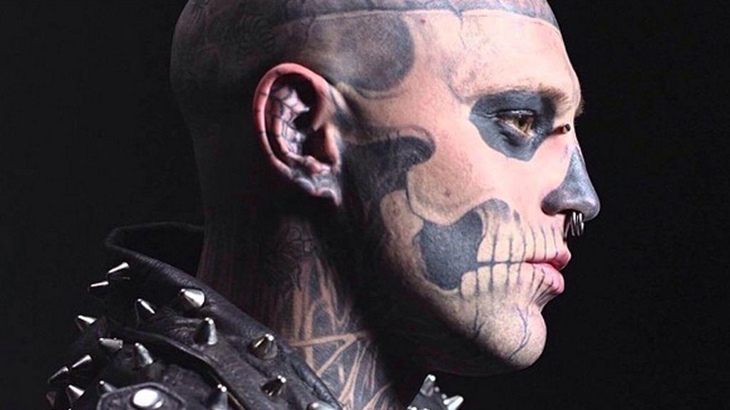 El modelo completamente tatuado 'Zombie Boy' se suicida a los 32 años