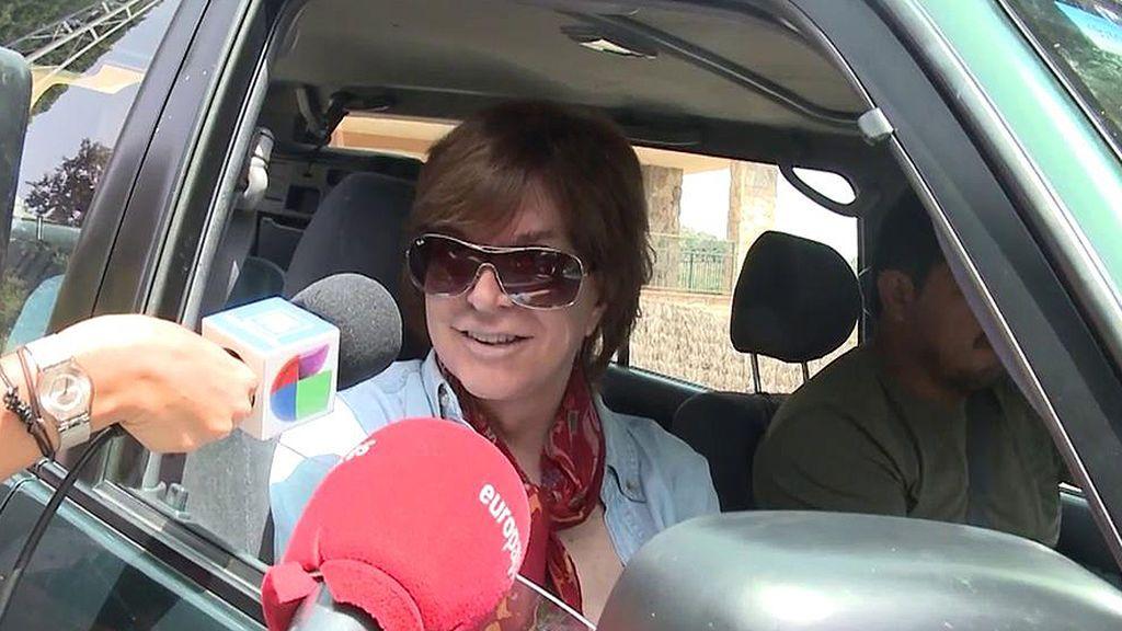 """Las primera declaraciones de Camilo Sesto tras su alta medica: """"Estoy divinamente"""""""