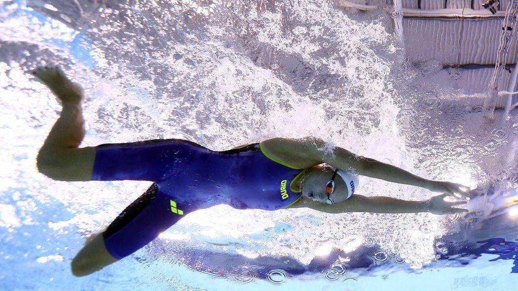 Campeonato de Europa de natación femenina en Glasgow