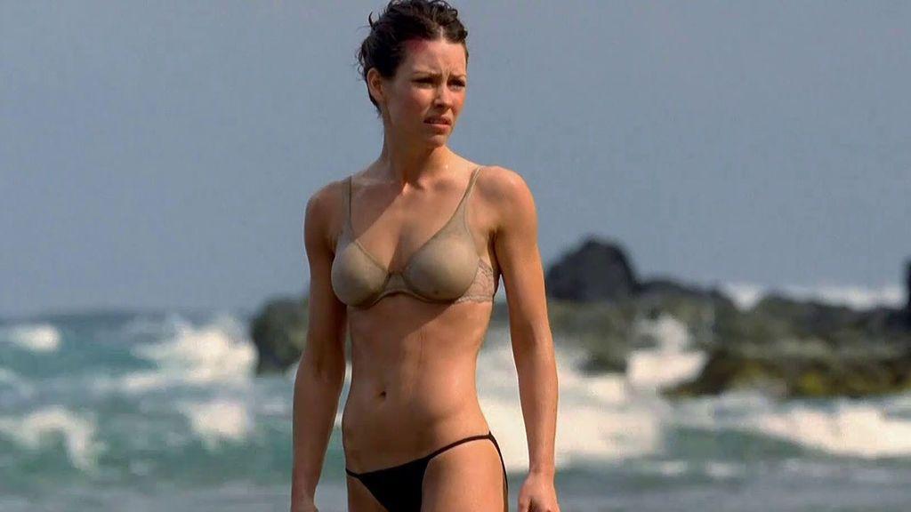 Evangeline Lilly, en el papel de Kate en 'Perdidos'.
