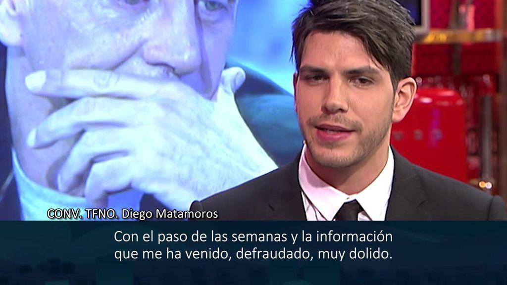 Diego Matamoros se sienta en 'Sábado Deluxe' para hablar de la relación con su padre