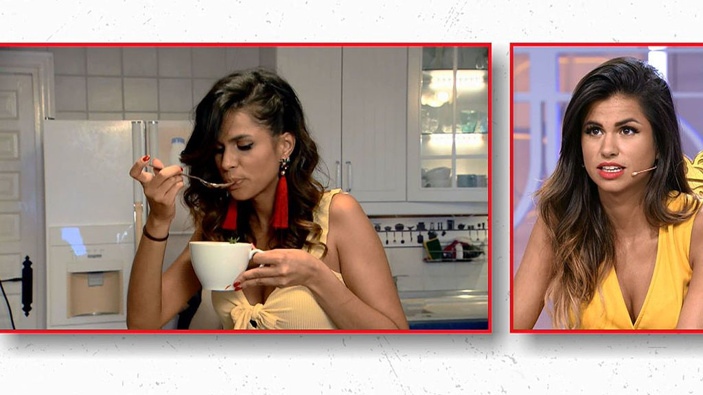Las caras de Marina lo dicen todo: el gazpacho de sus chicos está muy malo
