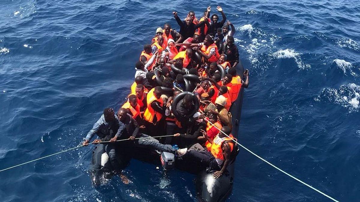 Rescatadas más de 400 personas que navegaban hacia aguas andaluzas