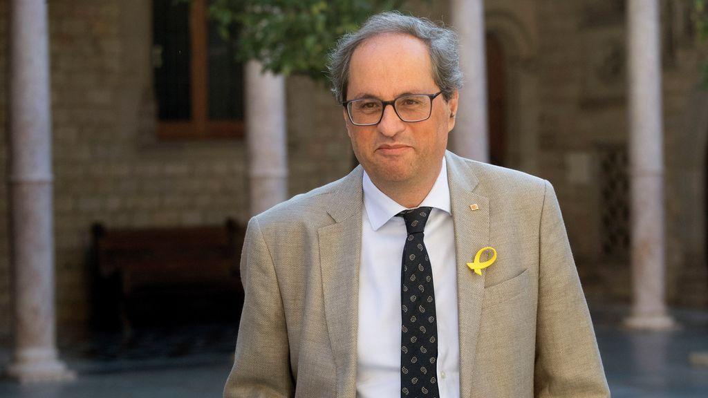 """Torra, de la presencia del Rey en el aniversario del atentado: """"No lo hemos invitado"""""""