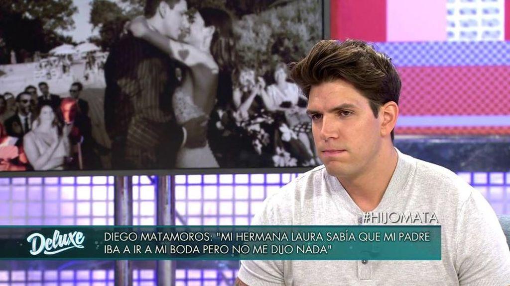 """Diego, traicionado por Laura: """"Mi hermana me mintió, ella sabía que mi padre venía a la boda"""""""