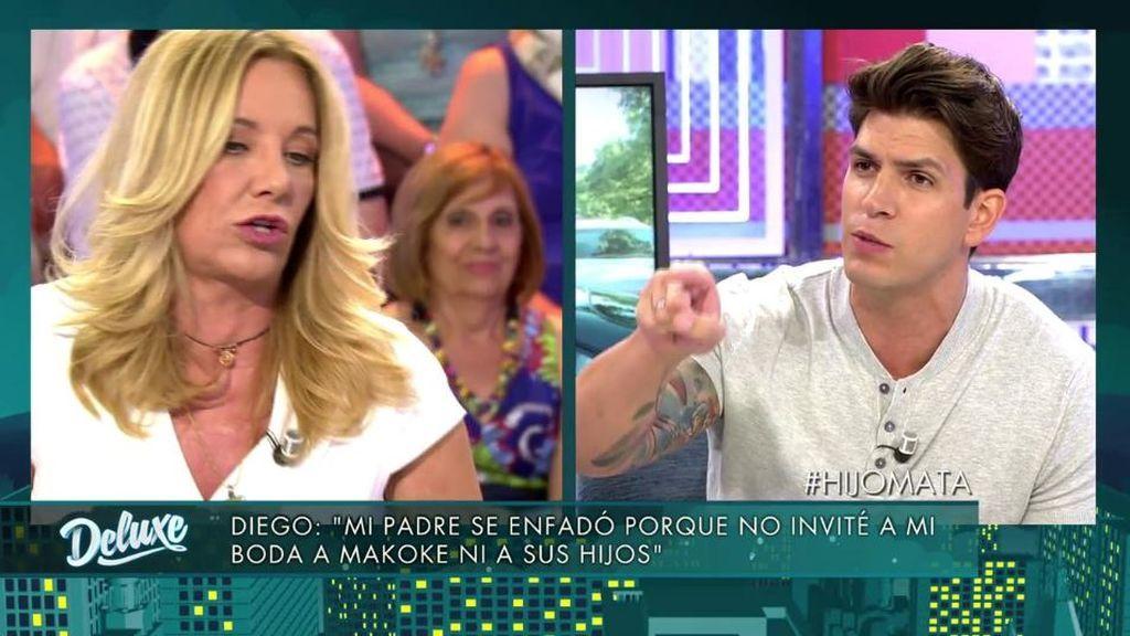 """El bombazo de Diego, sobre Belén Ro: """"Defiendes a mi padre porque habéis tenido relaciones sexuales"""""""