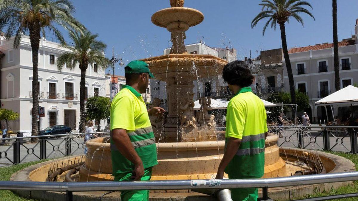 Las temperaturas más calurosas del país se registran en Extremadura