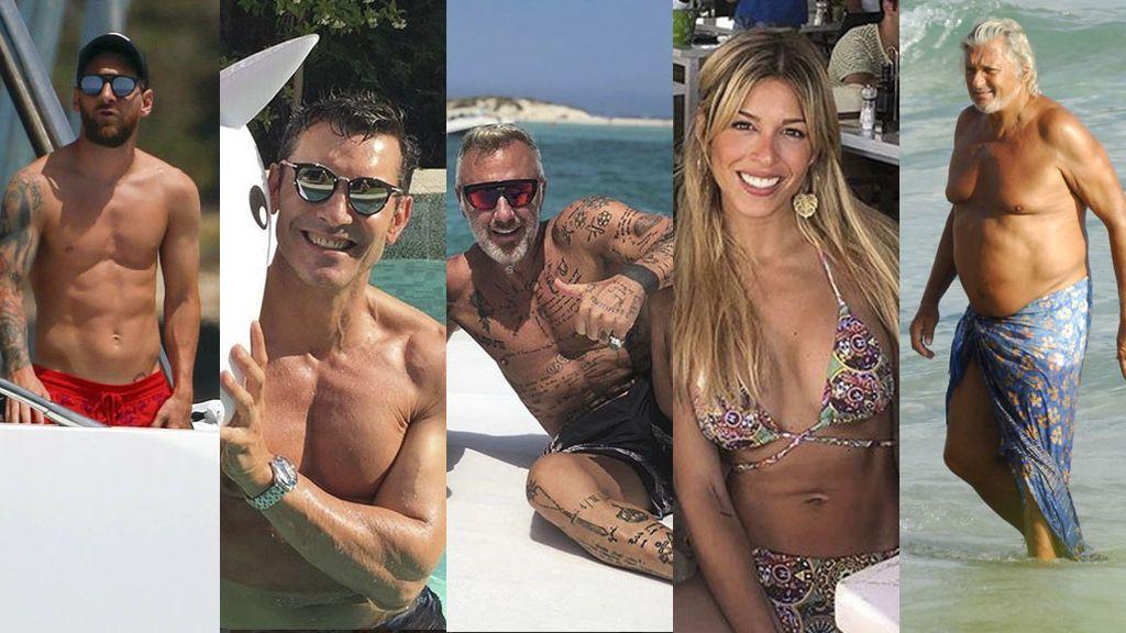 De Messi a Ostarcevic: Ibiza registra overbooking de famosos de todo tipo