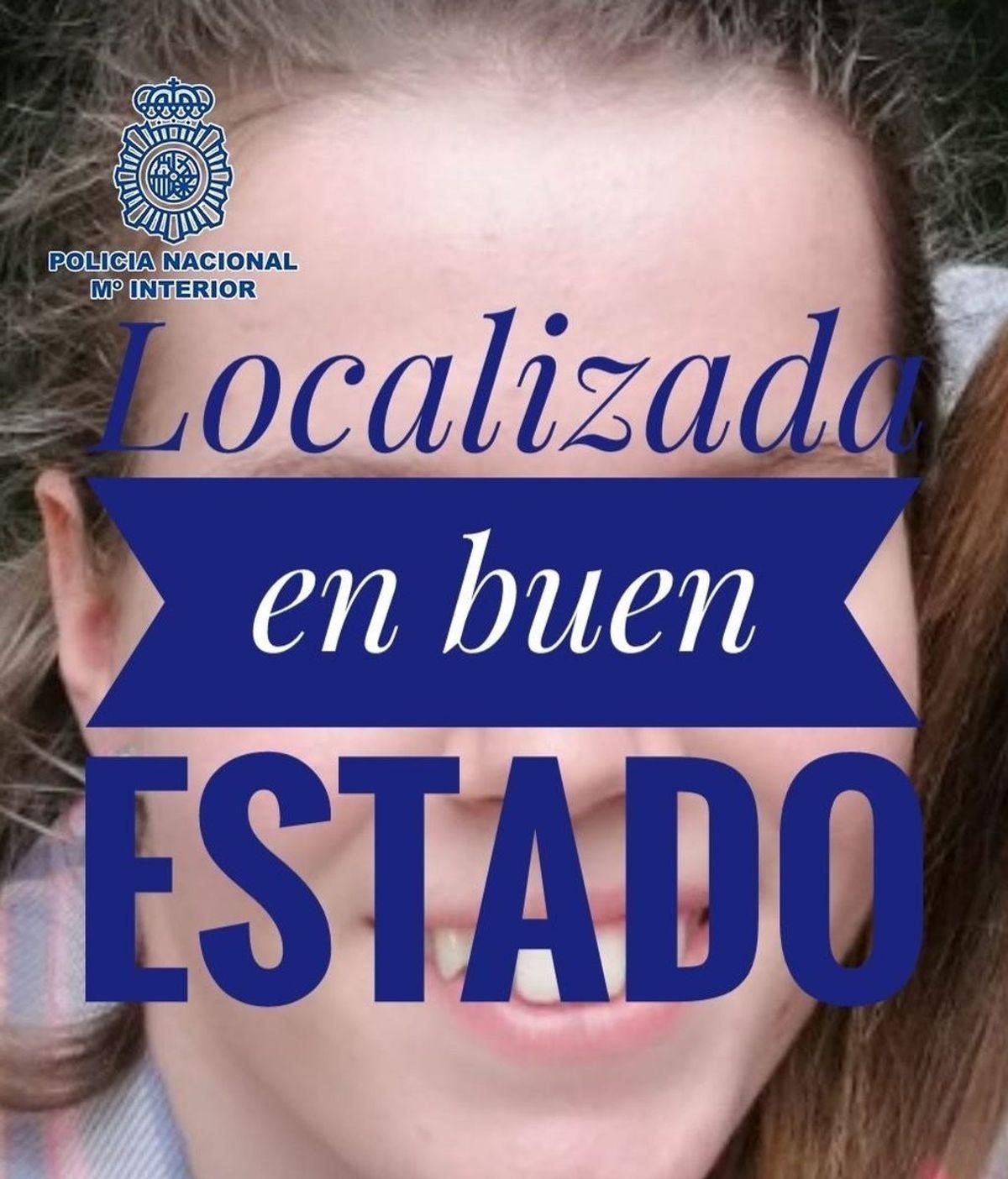 Localizada en buen estado Alenka Yumara, la menor que desapareció en Madrid