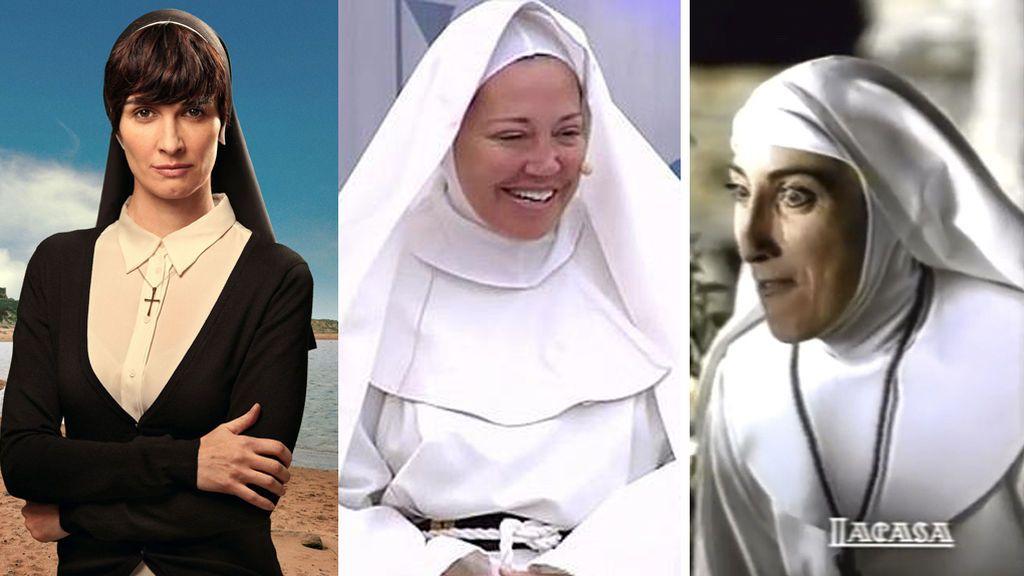 Perdónalas, señor: Paz Vega, Belén Esteban, Paz Padilla y más monjas por exigencias del guión