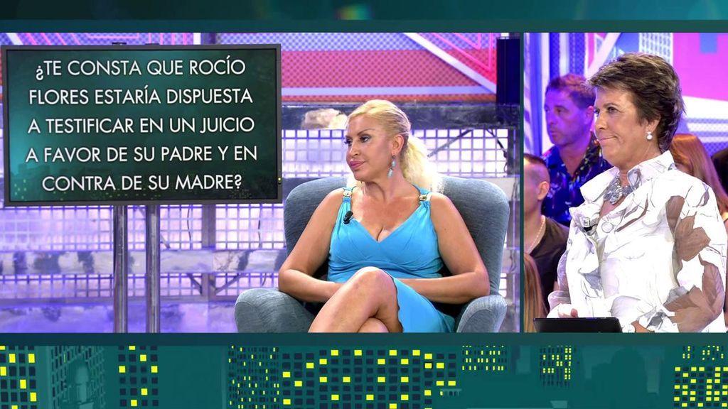 Raquel Mosquera desestabiliza a Rocío Carrasco: ¡Su hija podría testificar en su contra!